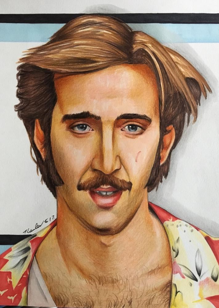 Nicolas Cage por TraceyLawler